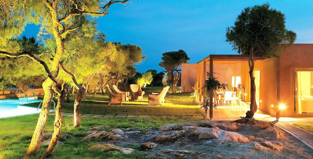 Un resort en un ambiente exclusivo