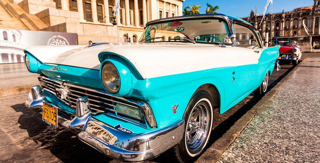 ¡Pasearás en coche vintage!