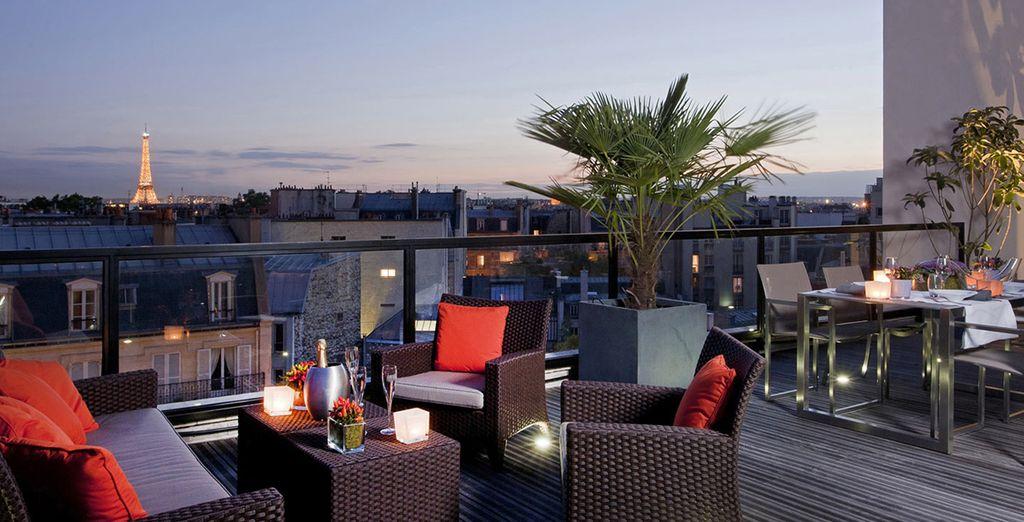 Una velada bajo el cielo de París en L'Edmond Hotel 4*