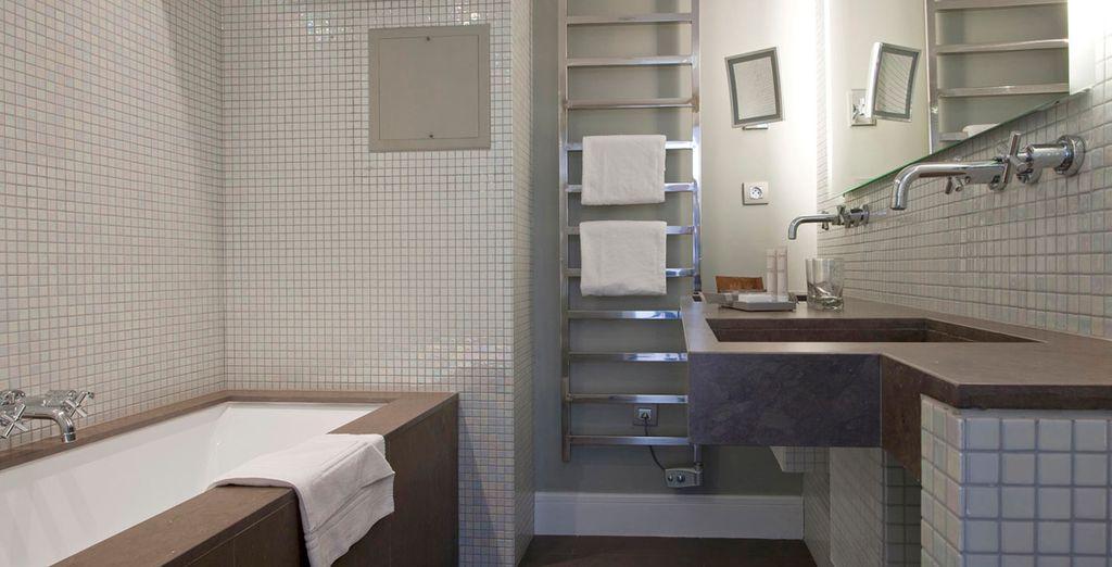 Baños minimalistas y de lujo