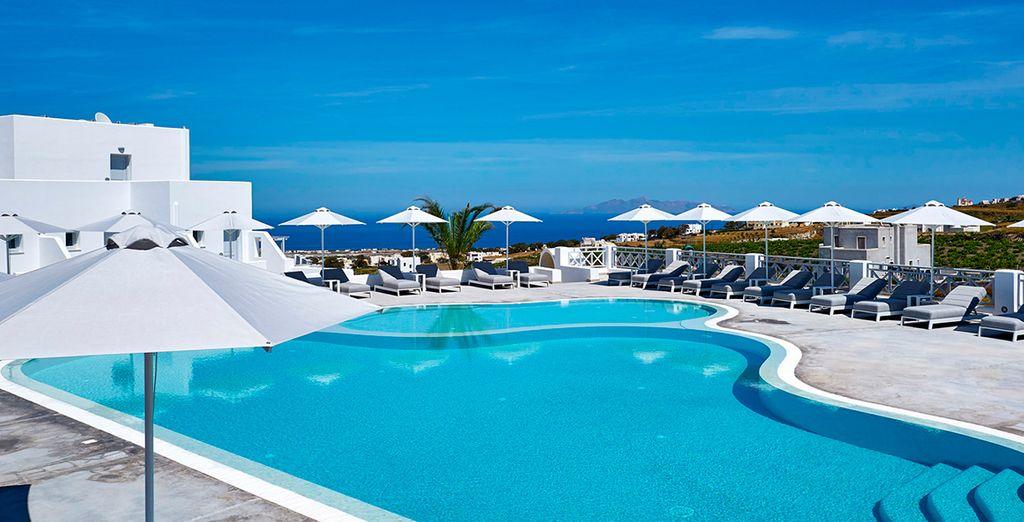 Santorini con De Sol Hotel & Spa 5*