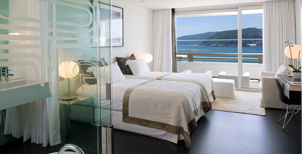 Te presentamos tu habitación Deluxe, un lugar acogedor para tu descanso...