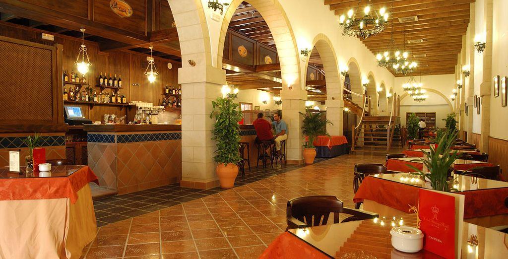 Donde el servicio, la gastronomía, el entorno y la tradición...