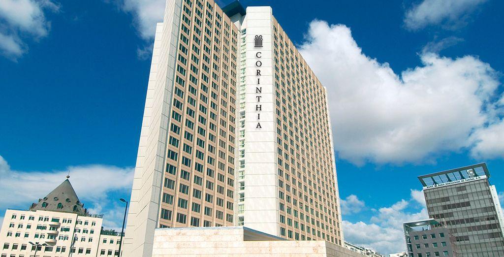 Un edificio moderno, lujoso y completo te espera