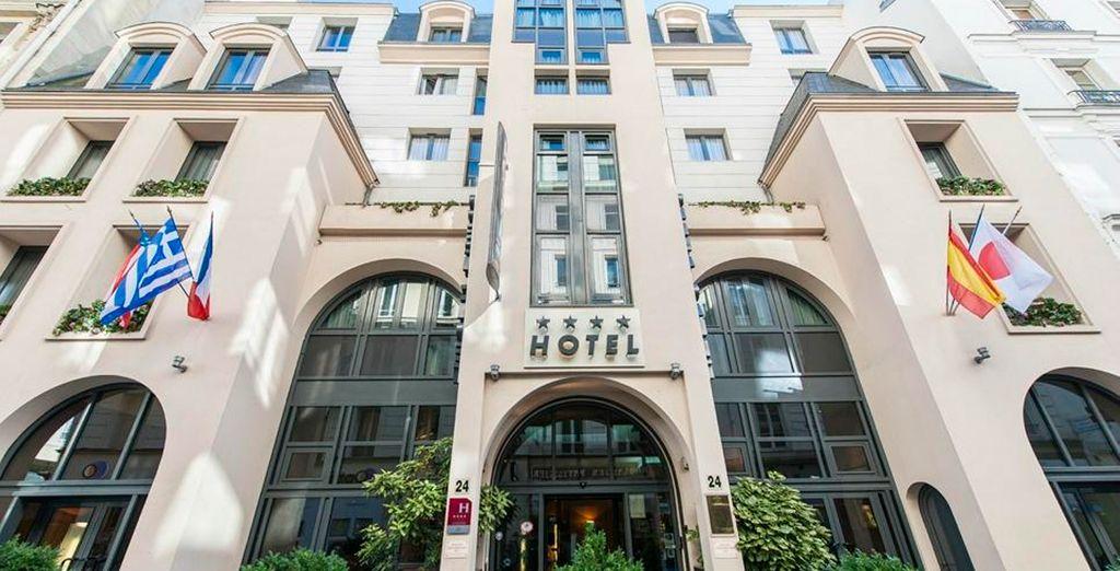 La ubicación del hotel en el distrito 9 te invita a vivir en pleno corazón de París