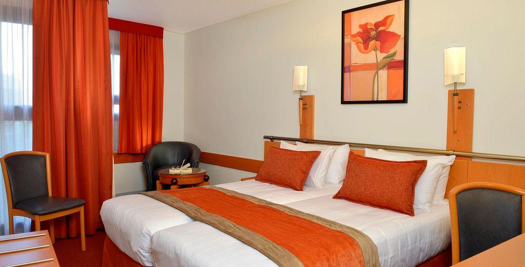Descansa en tu habitación Doble, diseñada para tu confort y tu descanso