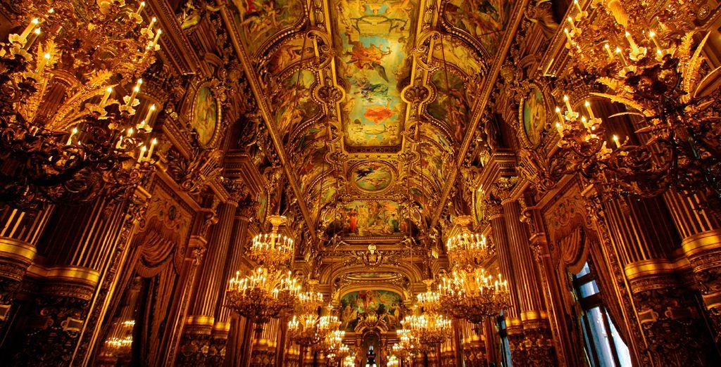 La Opéra Garnier, una visita obligada