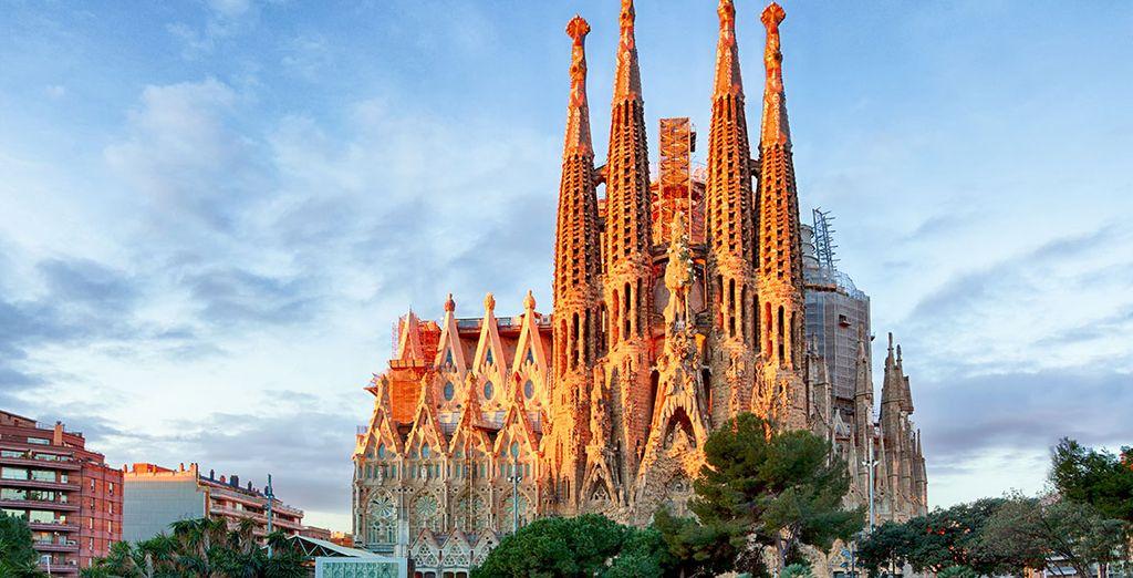 No te pierdas la Sagrada Familia, visita obligatoria en Barcelona