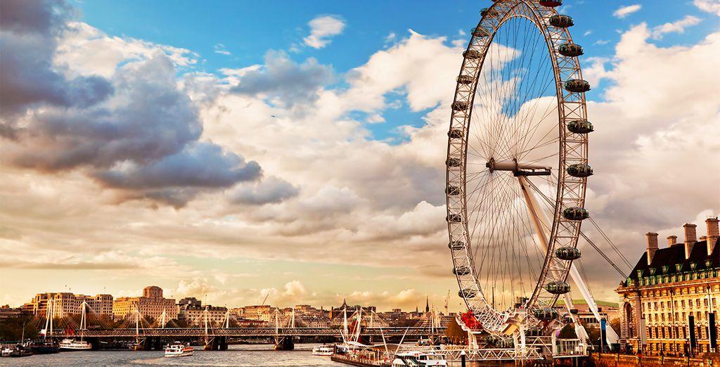 Vistas de lujo desde el London Eye