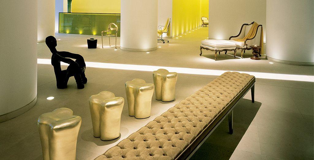 Con interiores modernos y elegantes