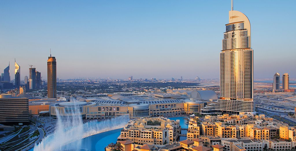 Dejarás la intensidad y la emoción de Dubái para dirigirte a tu próximo destino...