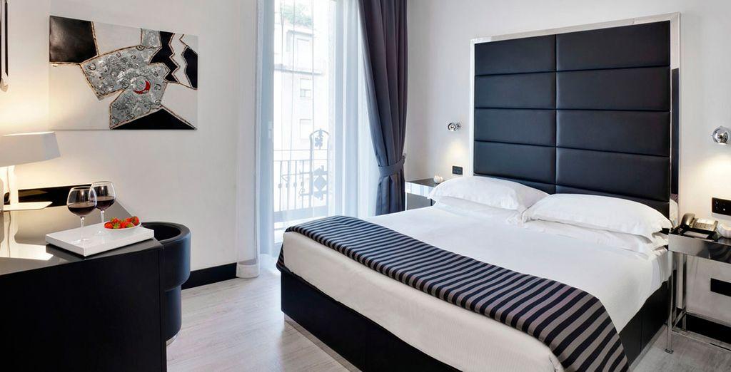 Descansarás cómodamente en tu habitación Superior