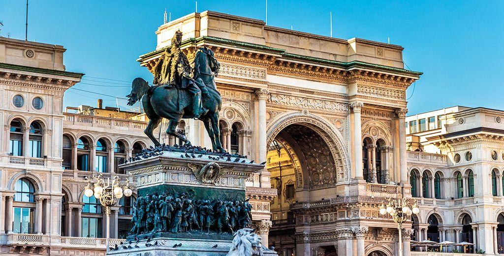 La Galería Vittorio Emanuele II, uno de los grandes iconos de Milán