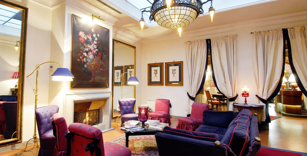 Lujo clásico en el Hotel Cellai, un Hotel Boutique 4*