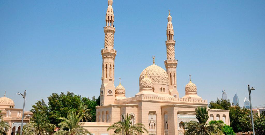 En la que verás lugares tan impactantes como la mezquita de Jumeirah