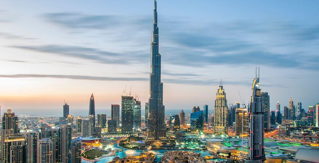 Subirás a lo alto del piso 124 del Burj Khalifa... ¿Te atreves?