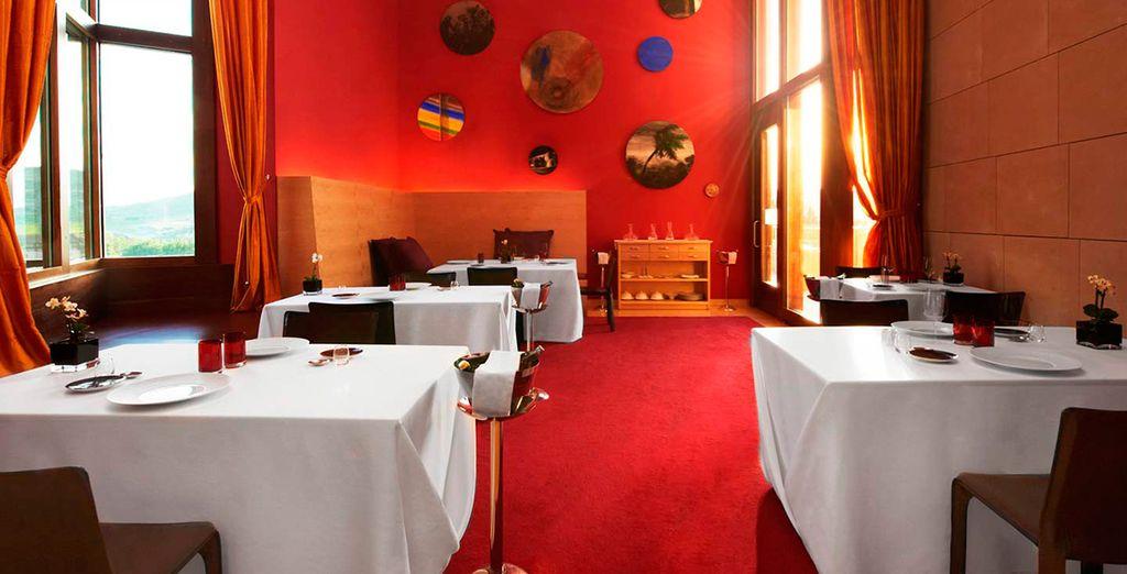 El Restaurante Marqués de Riscal, con una estrella Michelín, te sorprenderá con exquisitos platos