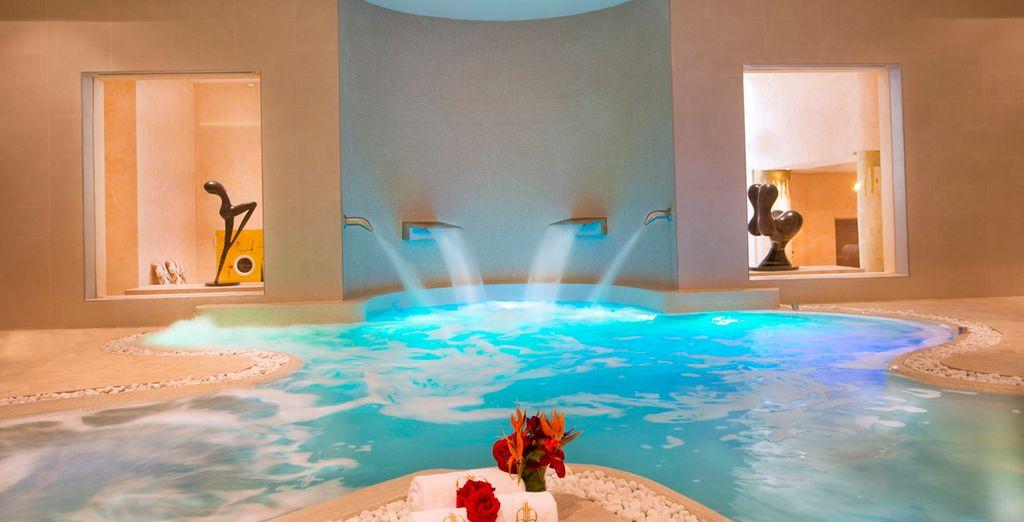 El spa de lujo en Healthouse Las Dunas te da la bienvenida al paraíso de bienestar