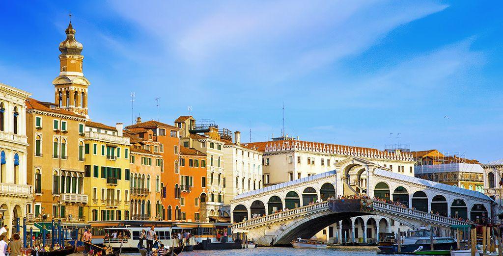 Rialto, símbolo de la ciudad italiana
