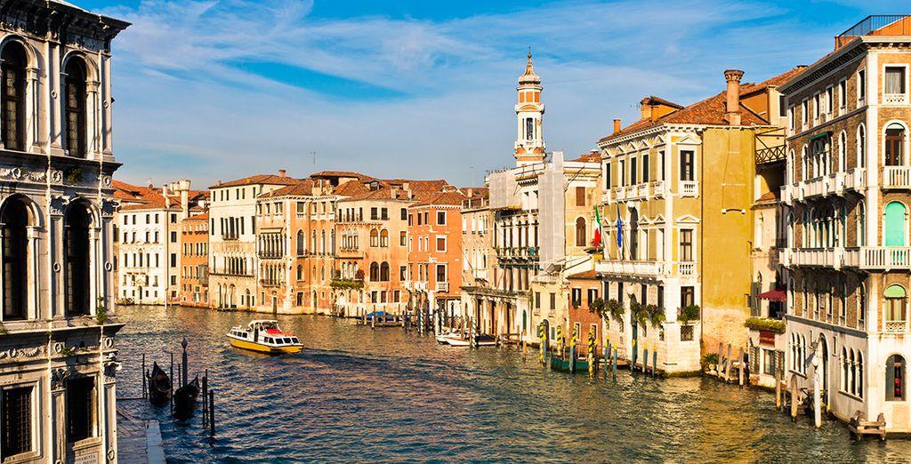Bienvenido a Venecia
