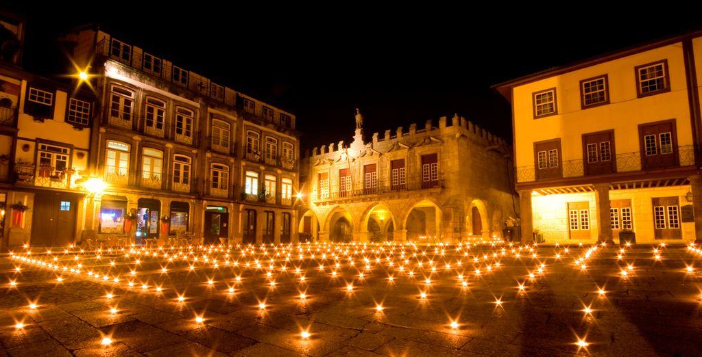 El centro histórico de Guimarães, patrimonio de la UNESCO