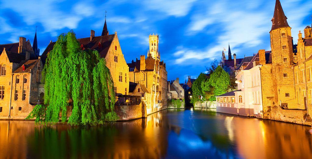 Brujas, una de las ciudades medievales mejor conservadas del mundo