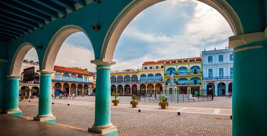La colorida La Habana te encantará