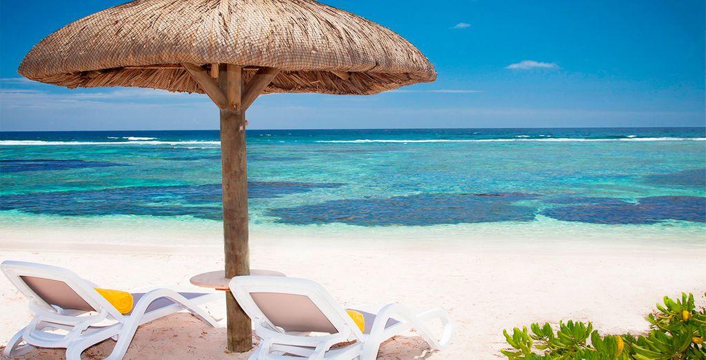 Desconecta en playas paradisíacas