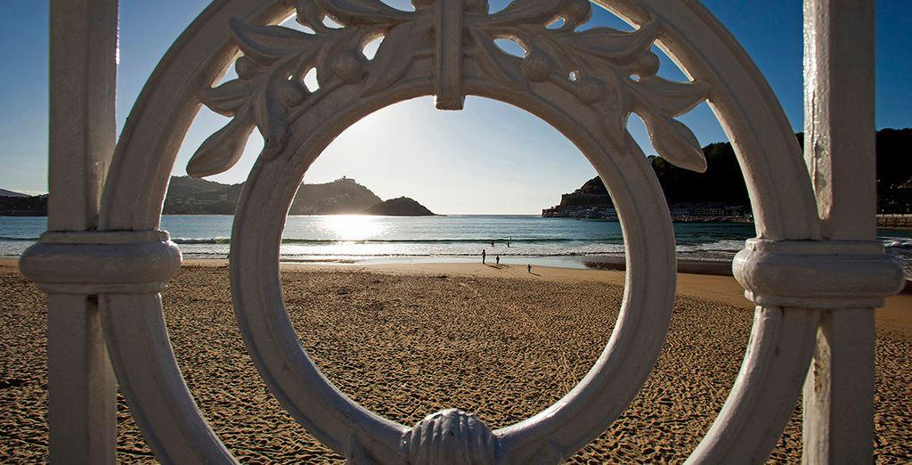 Disfruta de la playa de la Concha alojándote en Hotel de Londres y de Inglaterra 4*