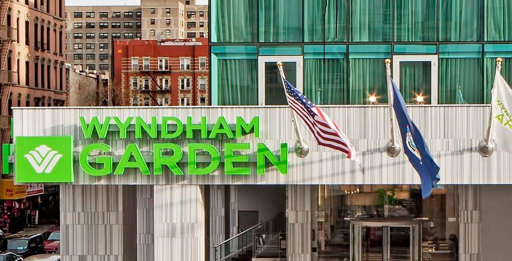 Bienvenido al hotel Wyndham Garden Chinatown 4*