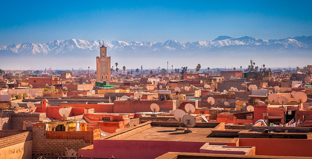No dejes que te lo cuenten... ¡Vive Marrakech!