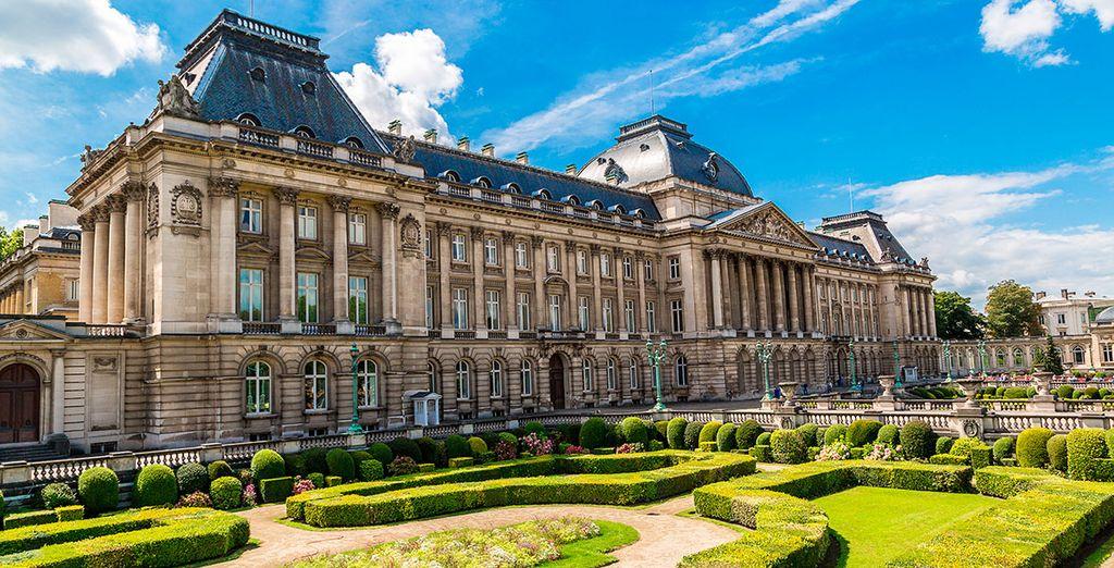 Déjate sorprender por su majestuosa arquitectura...