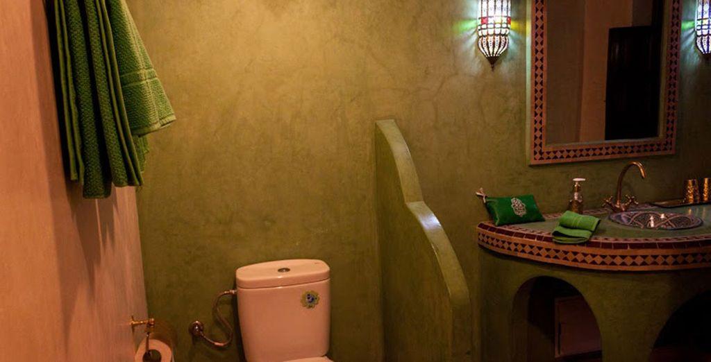 Tu habitación dispone de baño privado