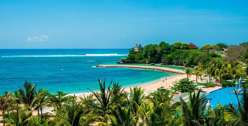 Seguidamente volverás a Bali, esta vez a la costa, a Nusa Dua
