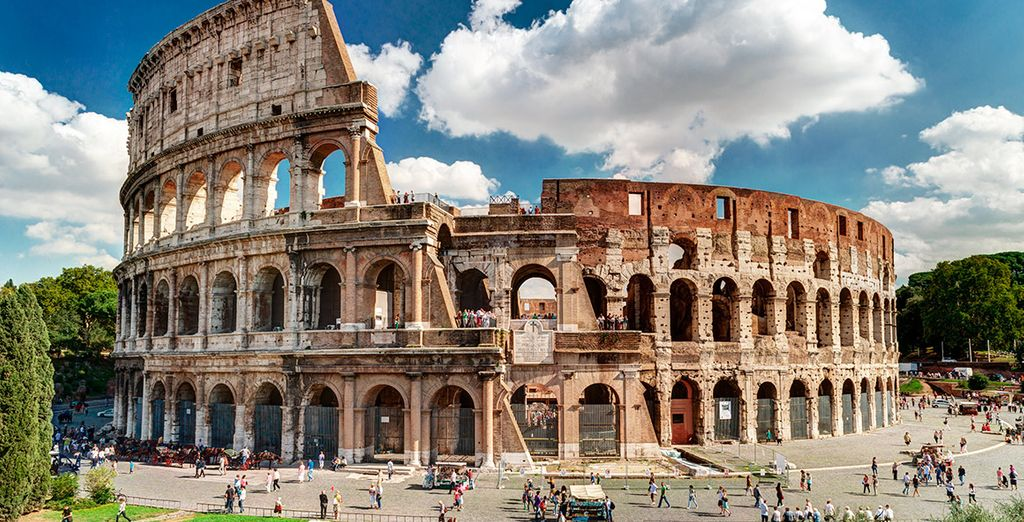 El Coliseo, una de las grandes joyas de la capital italiana