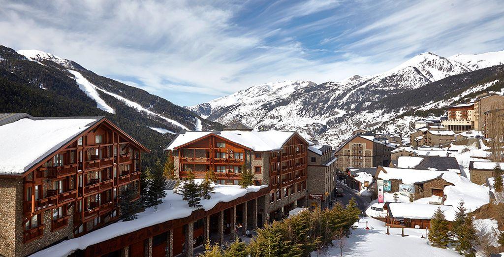 Un fantástico hotel a un paso de las pistas de esquí