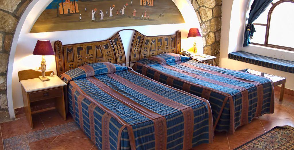 Pasarás una noche en este hotel de Abu Simbel