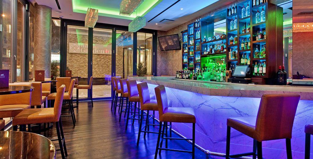 Un bar ideal para tomar una copa al final del día
