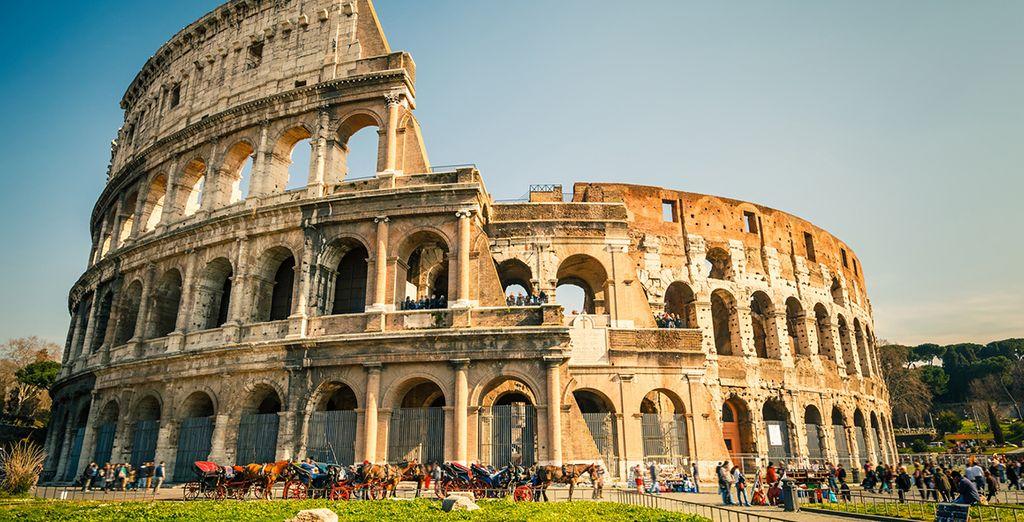 Admira el famoso Coliseo