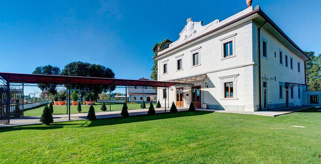 Un oasis de tranquilidad en la Villa Tolomei Hotel & Resort 5*