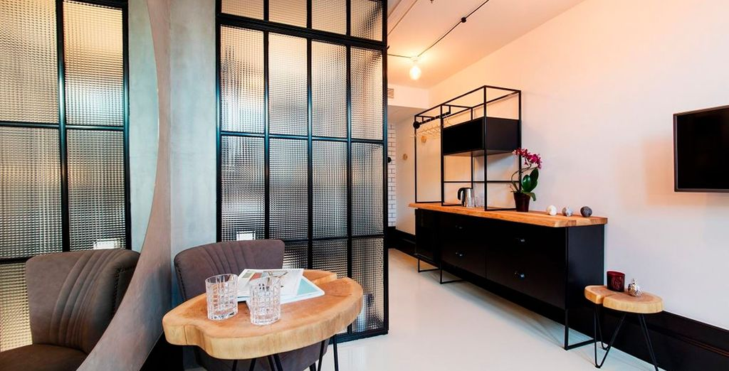 Un espacio diseñado con muy buen gusto