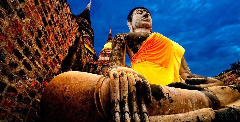 En Ayyutahaya te mostrarán una infinidad de increíbles templos