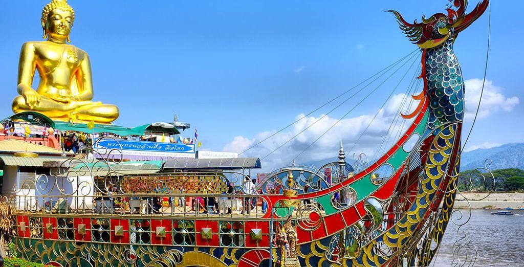 Respira la tranquilidad en la ciudad más norteña del país: Chiang Rai