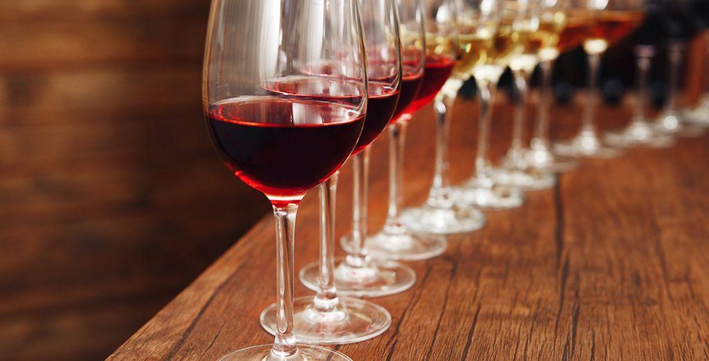 Y disfruta de tu cata de vino Oporto