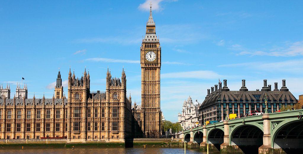 La capital del Reino Unido te espera