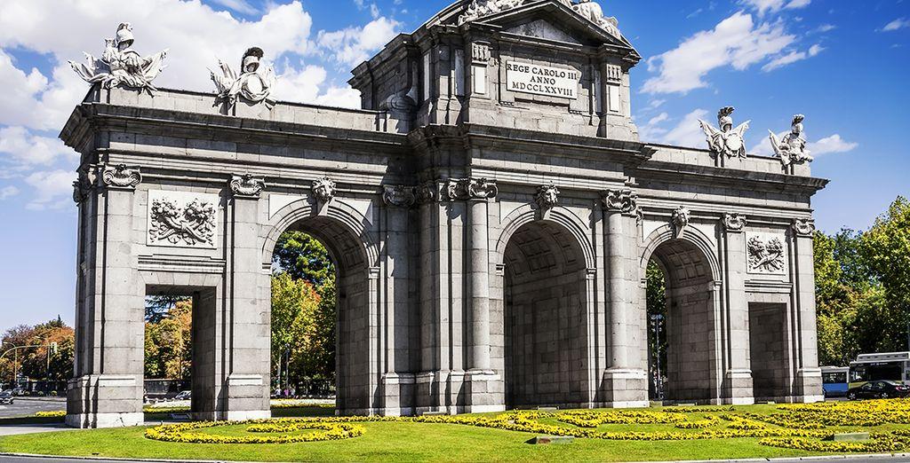 Una ubicación inmejorable muy cerca de la Puerta de Alcalá