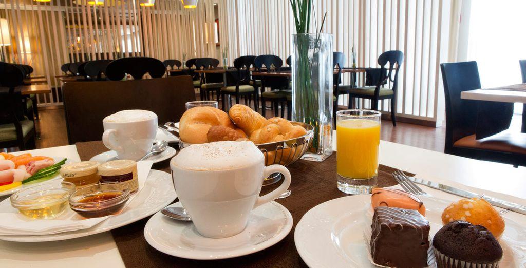 Empieza el día con energía con un completo desayuno