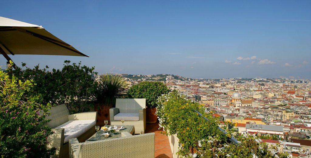 Disfruta de su terraza con unas vistas maravillosas