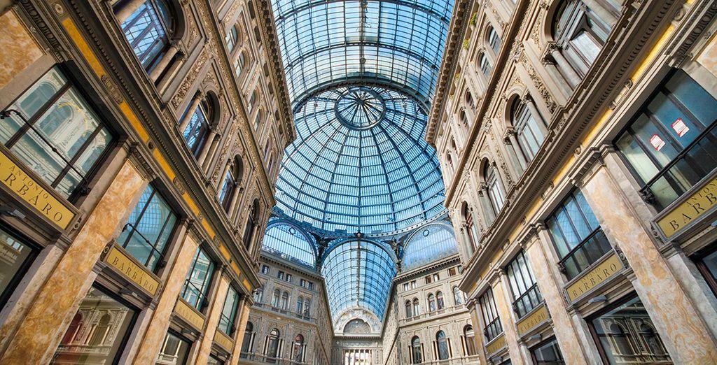 La Galería Umberto en Nápoles
