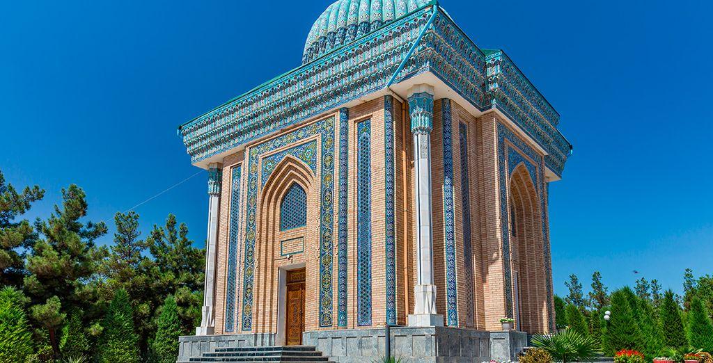 El mausoleo del imán Al Matrudiy